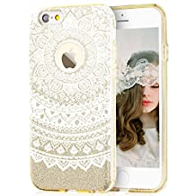 Glitter Crystal Case TPU+Glitter Paper+PP Inner Layer for iPhone 6S plus