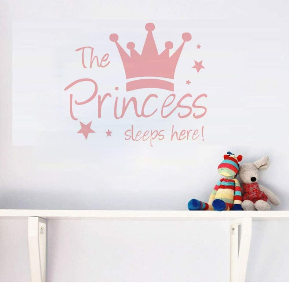 Cartoon Crown Stars Hearts Wall Stickers For Kids Rooms Child Gifts Art Mural Home Decor The Princess Sleep Here Vinyl Wallpaper Amazon Co Uk Diy Tools Find the best crown wallpapers on getwallpapers. amazon co uk