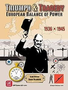 Triumph & Tragedy European Balance of Power 1936-45 - Board Game - English