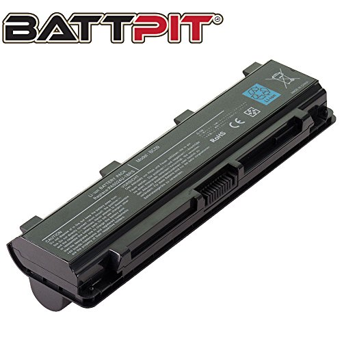 BattpitTM Laptop/Notebook Battery Replacement for Toshiba Satellite L850/01R (6600 mAh / 71Wh)