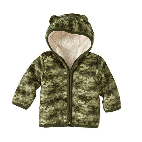 Healthtex Baby Boy Minky Jacket, Sea Turtle ()
