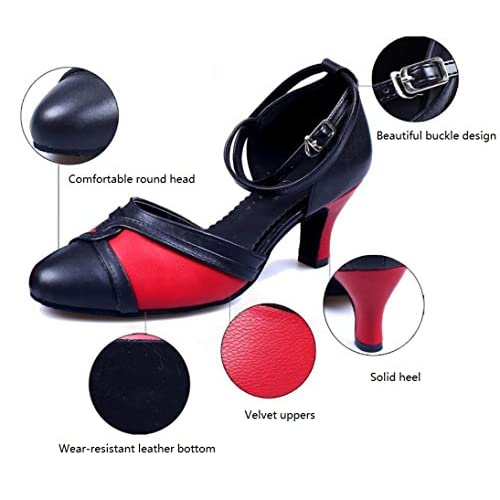 6063f7d2 Outlet MUYII Zapatos De Baile Latino De Suela Blanda Para Mujer Zapatos De Baile  Moderno Para