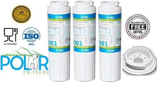 3x Sub Maytag Kenmore Sears Pur, 469006, 9006, 469992, Water Filter By Polar (Dispenser Viking Beverage)