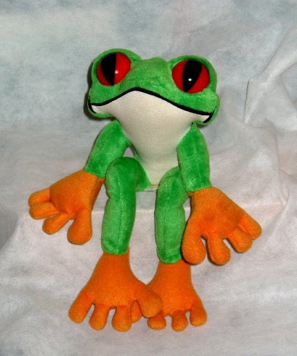 Rainforest Cafe ~ Cha Cha the Red Eyed Tree Frog ~ Plush Frog