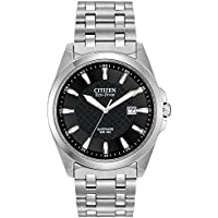 Citizen BM7100-59E Corso Eco Drive Men's Dress Watch (Stainless Steel)