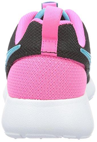 Nike Barna Roshe En Se (gs) Løpesko Svart / Rosa / Blå