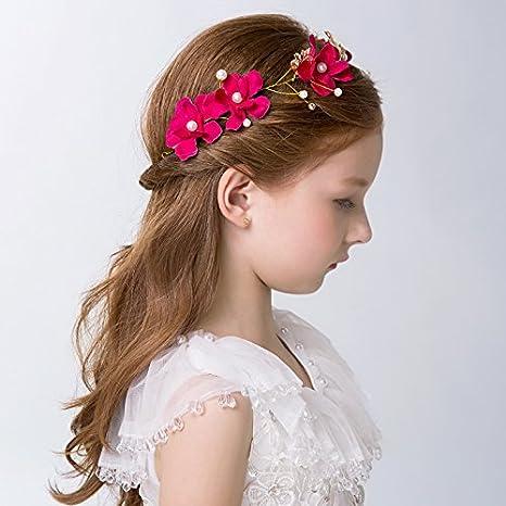 Accessori Per Capelli Da Sposa E Da Sposa Bambini i capelli clip accessori  moda fiore di