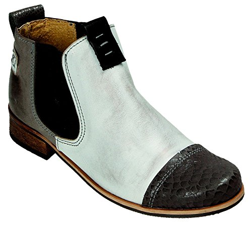 MICCOS Shoes Halbschuhe D.Sommerstiefel grau/komb.