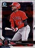 2018 Bowman Chrome Prospects #BCP136 Jo Adell Los Angeles Angels Baseball Card