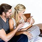 Bebe au Lait Premium Cotton Nursing Pillow, Twilight