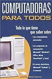 Computadoras Para Todos, Jaime Restrepo, 0609811002