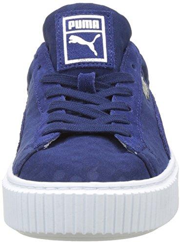 Basket Femme Basses Depths De blue Depths blue Bleu Platform Sneakers Puma ZpwHqPP