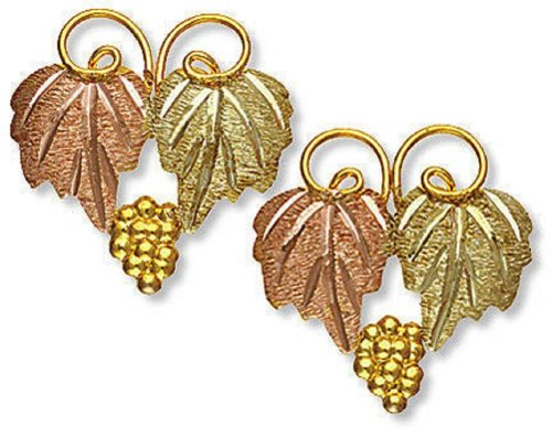 Landstroms 10k Black Hills Gold Classic Earrings, for Pierced Ears - A106P by Landstroms Black Hills Gold