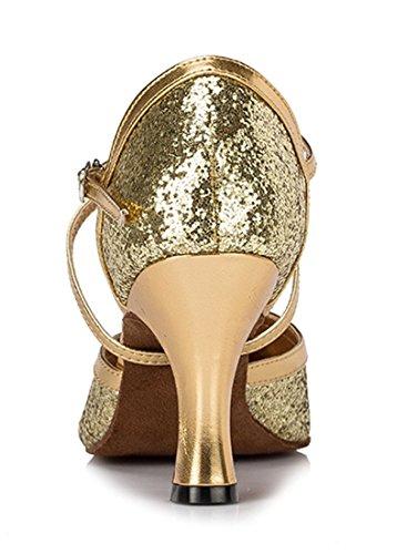 Gold e Joymod MGM Heel Oro 8cm B Donna 35 Jazz Style3 Moderno w0Efq1EO