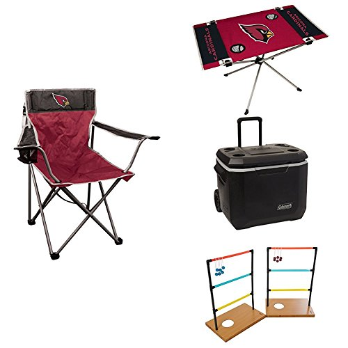 Arizona Cardinals Small Tailgate Bundle by Jarden Sports Licensing