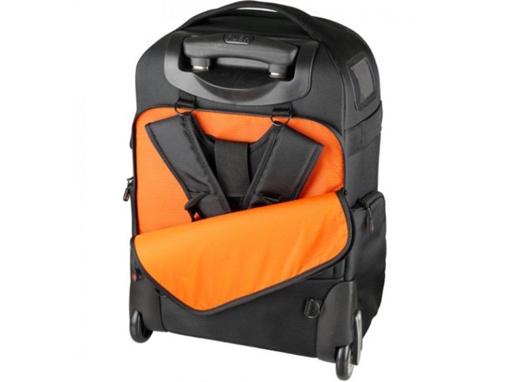 51d6956c1c AmazonBasics Sac à dos convertible à roulettes pour appareil photo Athena  100