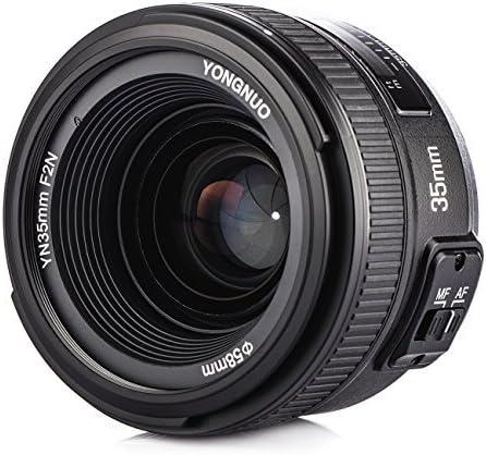 Yongnuo YN35mm F2N Objetivo focal fijo de 35 mm enfoque AF / MF ...