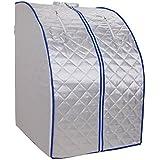 Sauna infrarouge 650-1000 Watt cabine thermique pliable espace sauna infrarouge lointain sauver Sauna infrarouge