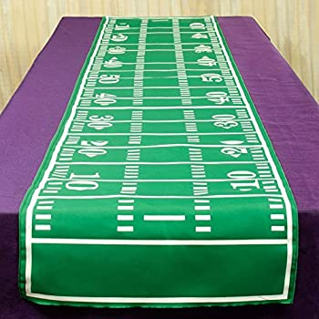 Amazon Com Printed Game Day Football Table Runner Party