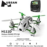 HUBSAN H111D NANO Q4 FPV 5.8G RC Quadcopter Drone with 480P Camera RTF White