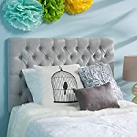 Bobby Grey Fabric Kids Twin Headboard