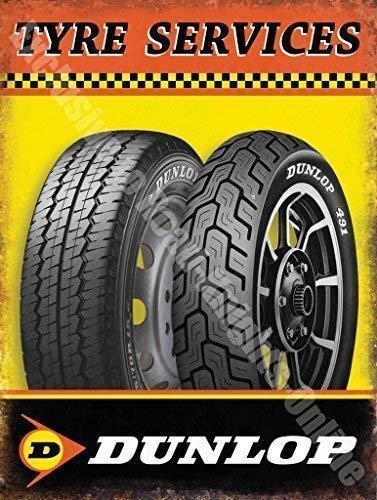 Dunlop Neumático Servicios Coche Moto Bici Rueda Garaje ...