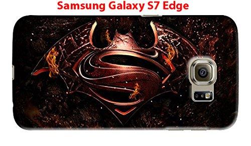 Batman, Joker & Superman for Samsung Galaxy S7 Edge Hard Case Cover (Bat11)