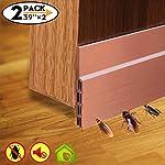 Energy Saver Self Adhesive Strong Under Door Silicone Sweep WeatherStripping Weatherproof Door Bottom Seal Strip
