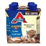 Atkins Ready To Drink Shake, Mocha Latte, 4 Count