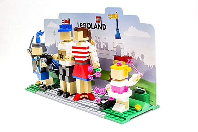 9c24993342b Buy Lego 40115 Legoland Entrance with Family Exclusive Online at Low Prices  in India - Amazon.in