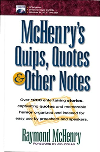 Book McHenry's Quips, Quotes and Other Notes
