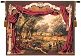 Tapestry, Extra Large, Wide - Elegant, Fine, French & Wall Hanging - Promenade Napoleonienne, H58xW78