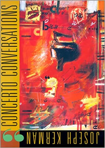 concerto conversations the charles eliot norton lectures 1997 98 with a 68 minute cd