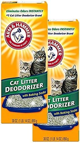 Arm & Hammer - Desodorante para Arena para Gatos con bicarbonato de Sodio (2 Unidades): Amazon.es: Productos para mascotas