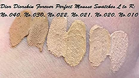 727b7770fd DIOR Diorskin Forever Perfect Mousse - perfect matte weightless foundation  zero-pore effect 010 IVORY