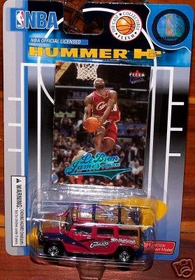 cleveland-cavaliers-2004-05-nba-diecast-fleer-hummer-h2-with-lebron-james-trading-card