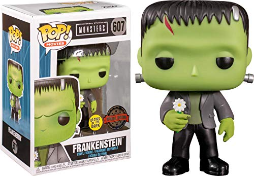 Funko Pop! Universal Monsters Frankenstein Exclusivo Glow in The Dark GITD
