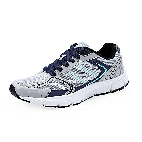 LANBAOSI Women Casual Lightweight Mesh Sneakers Breathable Athletic Running Shoes Grey DRzcLWNi