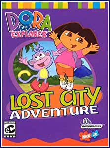 Amazon.com: Dora the Explorer: Lost City (PC): Video Games