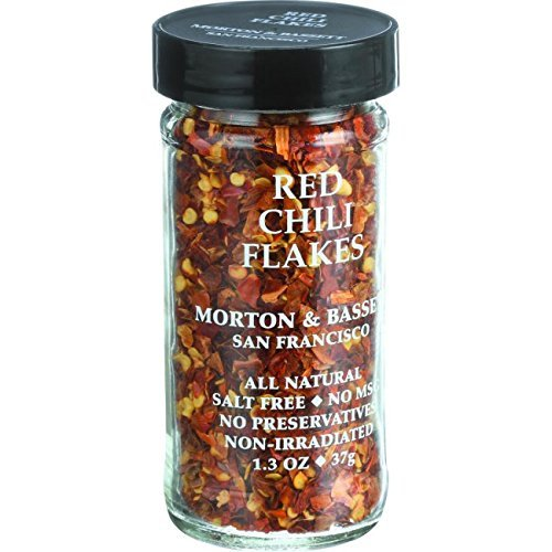 Morton & Bassett Chili Flakes Red, 1.3 ounce