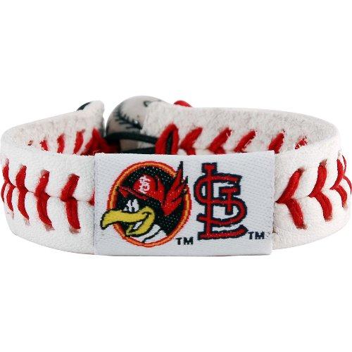 (MLB St. Louis Cardinals Cardinals Fred Bird Classic Baseball Bracelet)