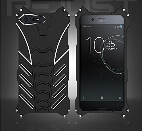 Aluminum Metal Bumper Case Shockproof Cover for Sony Xperia XZ Black - 7