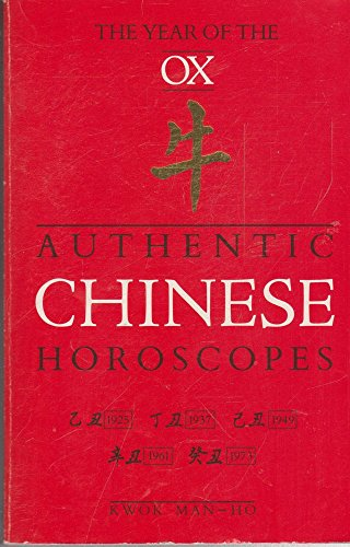 Authentic Chinese Horoscopes the Year Of The Ox