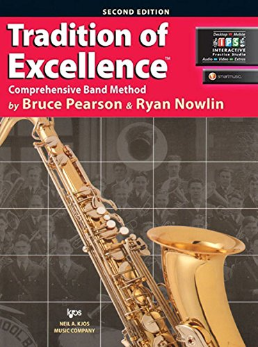 W61XB - Tradition of Excellence Book 1 - Bb Tenor Saxophone