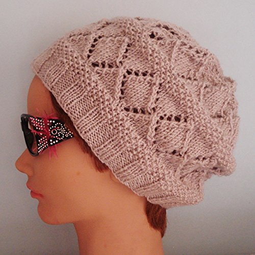 Amazon Beautiful Unisex Beanie Hat Crochet Hat Winter Knitting