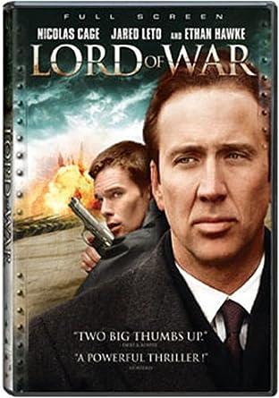 Amazon Com Lord Of War Full Screen Nicolas Cage Ethan Hawke
