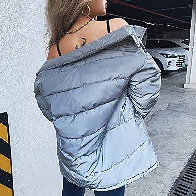 Sttech1 Women Fashion Puffer Jacket, Warm Winter Lightweight Outwear Full Zip Turtleneck Insulate Jacket Short Down Coat: Clothing