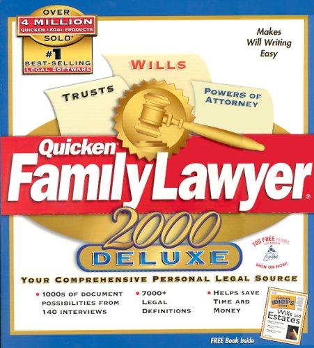 Quicken Family Lawyer 2000 Deluxe