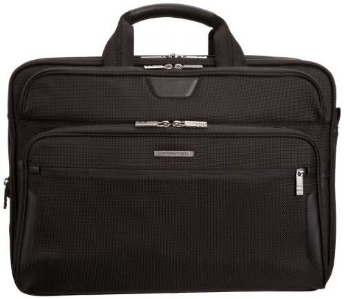 Briggs & Riley @ Work Luggage Large Expandable Brief, Black by Briggs & Riley (Image #1)