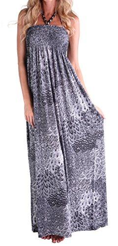 long black peacock dress - 3